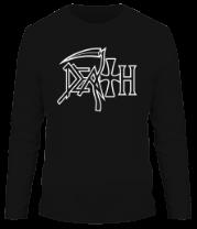 Мужская футболка с длинным рукавом Death