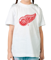 Детская футболка  Detroit Red Wings