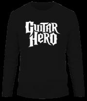 Мужская футболка с длинным рукавом Guitar Hero