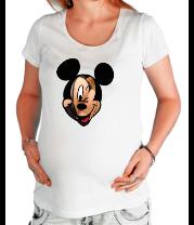 Футболка для беременных Микки Маус