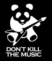 Женская майка борцовка Don't Kill The Music