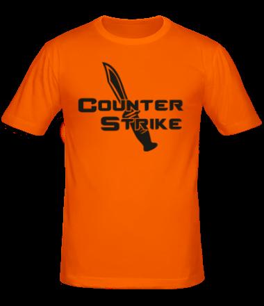 Мужская футболка  Counter Strike - Контр Страйк