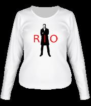 Женская футболка с длинным рукавом Rio Ferdinand