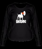 Женская футболка с длинным рукавом Bigdog