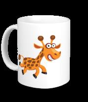 Кружка Жираф smile