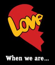 Толстовка Сердце love is