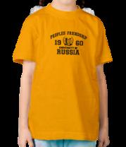 Детская футболка  РУДН