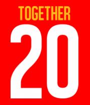Женская футболка  Together since 20XX