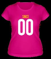 Женская футболка  Together since XX00