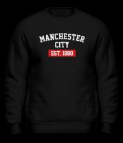 Толстовка без капюшона FC Manchester City Est. 1880