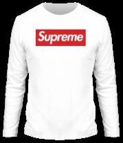 Мужская футболка с длинным рукавом Supreme