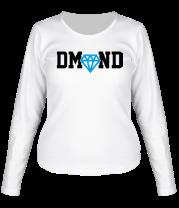 Женская футболка с длинным рукавом DM-ND