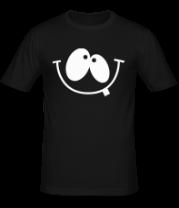 Мужская футболка  Улыбка