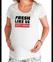 Футболка для беременных Fresh like US