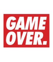 Детская футболка  Obey Game Over
