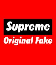 Детская футболка  Supreme Original Fake