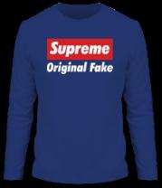 Мужская футболка с длинным рукавом Supreme Original Fake