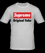 Мужская футболка  Supreme Original Fake