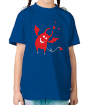 Детская футболка  Чертик