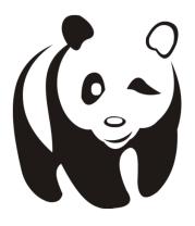Детская футболка  Панда