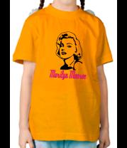 Детская футболка  Мерлин Монро (Marilyn Monroe)