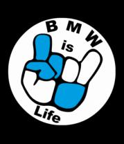 Женская майка борцовка BMW is life - БМВ это жизнь