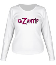 Женская футболка с длинным рукавом KaZantip