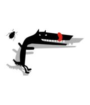 Бейсболка Собака и жук