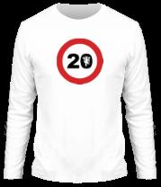 Мужская футболка с длинным рукавом Roadsign 20