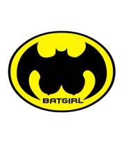 Футболка поло мужская Batgirl