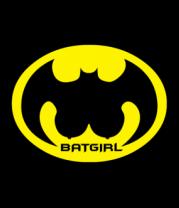 Женская майка борцовка Batgirl