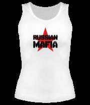 Женская майка борцовка Russian mafia