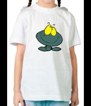 Детская футболка  Веселая лягушка