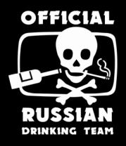 Футболка поло мужская Drinking Team