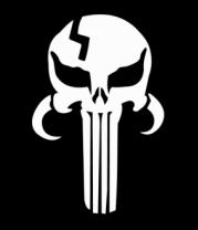 Толстовка без капюшона Mandalorian Punisher