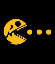 Женская футболка с длинным рукавом Dead Pacman