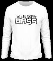 Мужская футболка с длинным рукавом Drum Bass