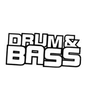 Мужская футболка  Drum Bass