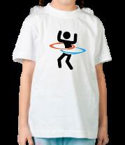 Детская футболка  Portal (Портал) хулахуп