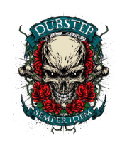 Толстовка Dubstep-череп