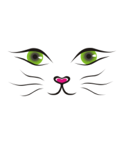 Женская футболка  Я кошка