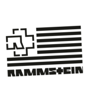 Футболка для беременных Флаг Rammstein
