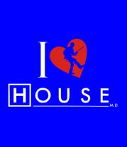 Футболка поло мужская I Love House