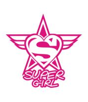 Мужская футболка с длинным рукавом Super Girl