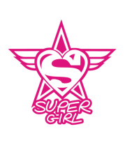 Толстовка без капюшона Super Girl