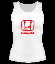 Женская майка борцовка Honda (эро)