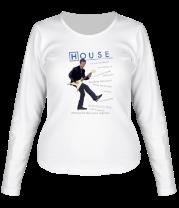 Женская футболка с длинным рукавом House