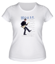 Женская футболка  House