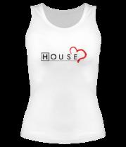 Женская майка борцовка House Love