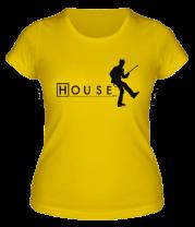 Женская футболка  House MD